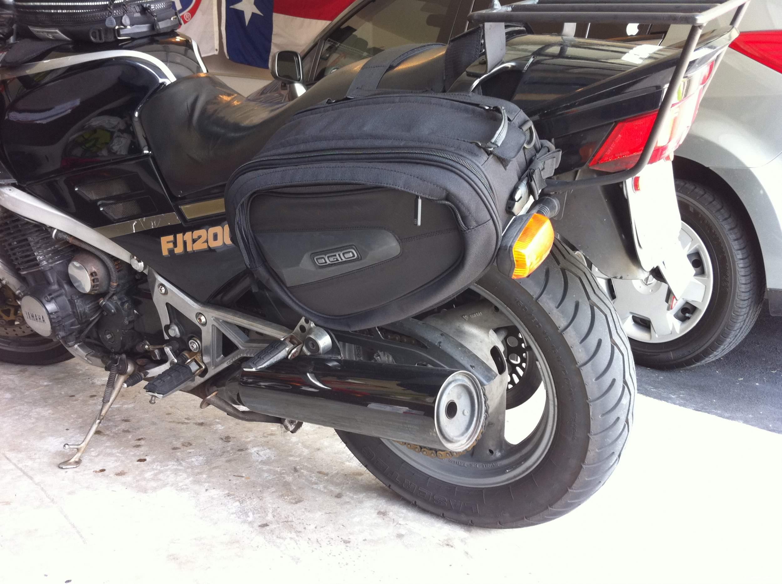Боковые сумки для мотоциклов